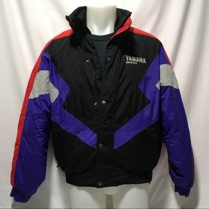 Men's Large Yamaha Snowmobile Gore-Tex Jacket.